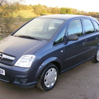 LHD 06 56 OPEL VAUXHALL MERIVA, LEFT HAND DRIVE AUTO 1 OWNER