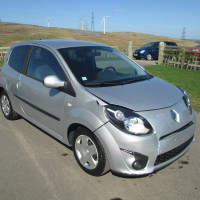 Renault TWINGO 1.1 RIP CURL LEFT HAND DRIVE (LHD) 2009 (59) DAMAGED REPAIRABLE