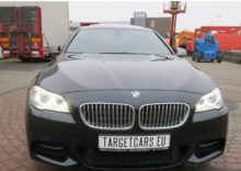 LHD BMW M550D XDRIVE SEDAN Water Damage