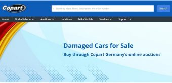 Buy LHD Salvage via Copart - Germany's online auctioneer