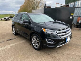LHD FORD EDGE 2.0 ECOBOOST SPARES OR REPAIR ENGINE DAMAGED