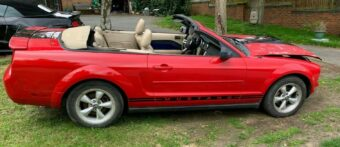 FORD MUSTANG CONVERTIBLE 2007 SALVAGE SPARES REPAIRS