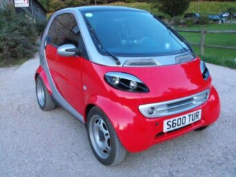 LHD Smart ForTwo Rolling Chassis eng out/damaged Spares or Repair Breaking