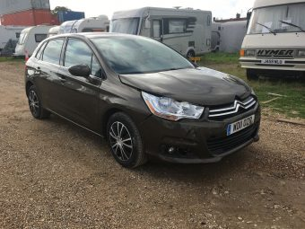 LHD 2011 CITROEN C4 DIESEL BROWN LEFT HAND DRIVE SALVAGE DAMAGED REPAIR